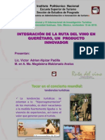 RUTA DEL VINO DE QUERETARO Ponencia Anahuac..pptx