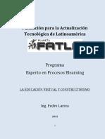 LA EDUCACIÓN VIRTUAL Y CONSTRUCTIVISMO