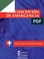 Protocol o Anti Concepcion Emergencia