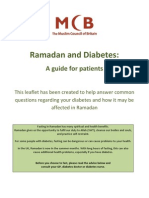 Ramadan and Diabetes - A Guide for Patients 2013