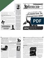 Periodico Anarquista El Amanecer, Mayo 2013, Horizontal