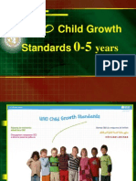 WHO Child Growth Standart