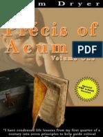 Precis of Acumen - Volume One