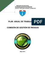 PLAN ANUAL DE TRABAJO_SALUD_GESTIÓN _RIESGOS