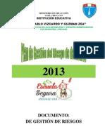 Plan de Gestion Vizcardo 2013