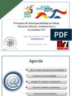 Principios de Interoperabilidad y Hl7 en Salud