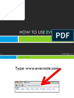 Badette_Catalla_How to Use Evernote