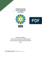 laporan eksperimen fisika fotokatalisis