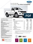 DB032 Attach Ford Ranger XL Single Cab 5 Speed MT Price List_Sabah