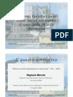 C. Fabi - Sistemi Turistici Locali come Social Networks
