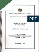 Informe nº 004-2005-2-2183