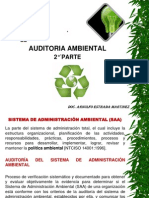 Auditoria Ambiental II Parte