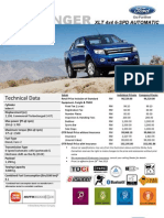 Ford Ranger 2.2L XLT at 4x4 Price List_Sabah