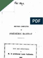 FRANCES- Bastiat, Oeuvres complètes de, vol. 6 Harmonies économiques 1st ed. 1855.pdf