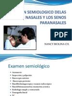 Examen Semiologico Delas Fosas Nasales Listo
