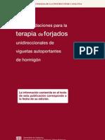 Recomendaciones para la terapia de forjados unidireccionales de viguetas autoportantes de hormigón_ITeC_1992