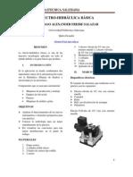 ELECTROHidraulica Basica Informe