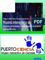 Diseño y planeamiento de un museo de ciencias interactivo