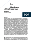 Weston - Political Ecologies of the Precarious
