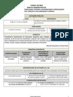 Esquema - Licitacoes e Contratos Administrativos