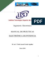 Manual de Practicas de Electrónica de Potencia