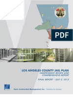 Los Angeles County Jail Plan - 2013