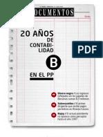 Veinte años de contabilidad B del PP - El Mundo