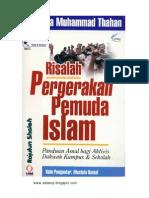 Risalah Pergerakan Pemuda Islam-Musthafa Muhammad Thafan
