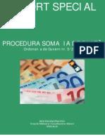 Raport Special-Procedura Somatiei de Plata