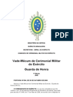 Cerimonial Militar do Exército GUARDA DE HONRA.doc