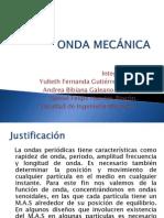 ONDA MECÁNICA PROYECTO DE ECUACIONES DIFERENCIALES