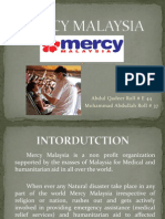 Mercy Malaysia 1 marketing