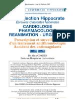 Accidents Des Anticoagulants