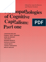 The Psychopathologies of Cognitive Capitalism