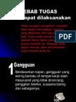 10 Sebab Tugas Tidak Selesai