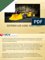 Sistemas LHD y Cintas Transportadoras