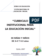 curriculo inicial