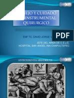 Manejo y Cuidado de Instrumental Quirurgico