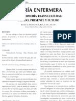 ENFERMERÍA TRANSCULTURAL
