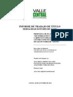 """PROPUESTA DE PLAN DE TRABAJO """"SECTORIZACION Y CREACION CARPETAS FAMILIARES"""" CENTRO COMUNITARIO DE SALUD FAMILIAR """"ANGOL"""""""