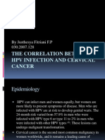 The Correlation Between HPV Infection and Cervical Cancer