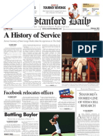 05/14/09 - The Stanford Daily [PDF]