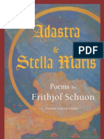 Frithjof Schuon - Adastra and Stella Maris. Poems by Frithjof Schuon