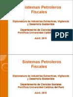 08a4 PUCP-Sist Petroleros Fiscales 2011 Laub