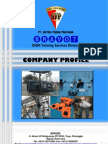 Company Profile BRAVO7 Offshore Survival & Safety Training Services Division