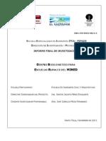 Diseño bioclimático para escuelas rurales del MINED