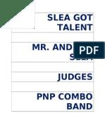 Slea Got Talent