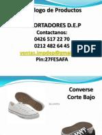 Catalogo Converse