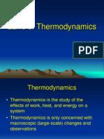 Laws of Thermodynamics