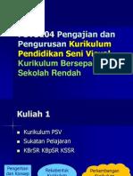 Kuliah 1 PSV 3104